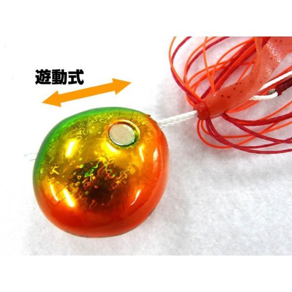 シャウト!(Shout) スライドアンサー(SLIDE ANSEWER) 151SL 45g グリーンオレンジ|tairabanet|04