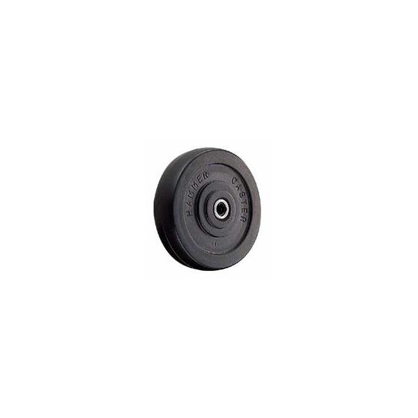 ハンマー キャスター 車輪 415EA-PDB 125mm ねじ込み 旋回式 (ゴム一体車輪 [ローラーベアリング入り])|tairaml|02