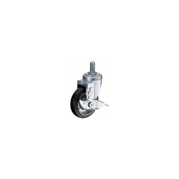 ハンマーキャスターネジ込み車  (UMCナイロン車輪[ボールベアリング入]) 413SA-MCB 125mm