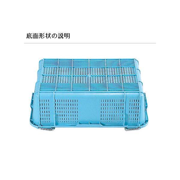 サンコー 三甲 サンテナー A#40 (PP) ハンドル付 104001-01 外寸 690 × 468 × 173 mm|tairaml|04