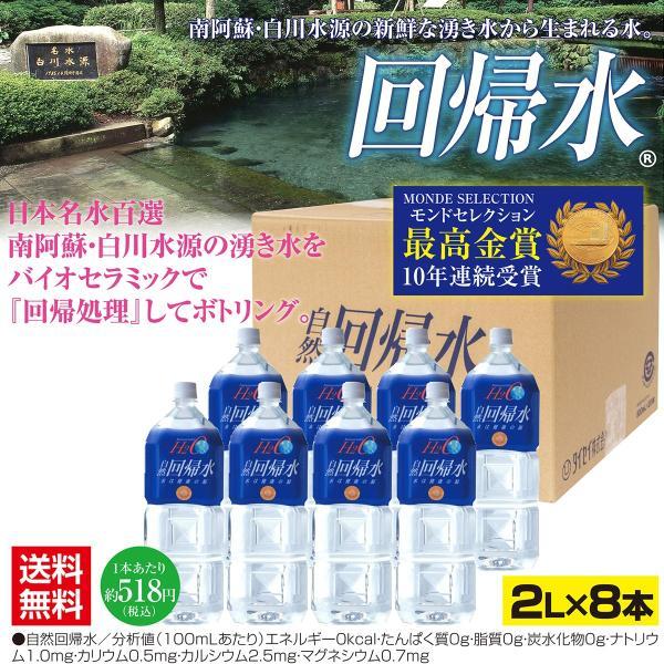 自然回帰水ボトル(2L×8本) taisei-online