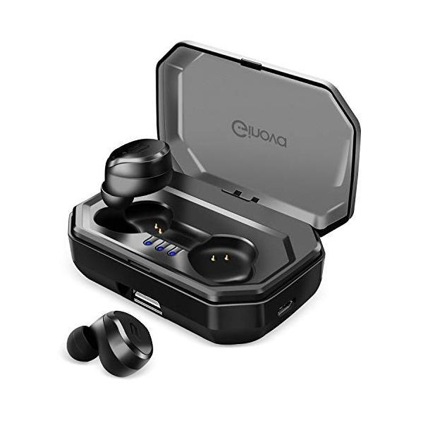 進化版 Bluetooth 5.0 IPX7完全防水 Bluetooth イヤホン 高音質 両耳 自動ペアリング 自動ON/OFF 90時間|taisei-sunflower