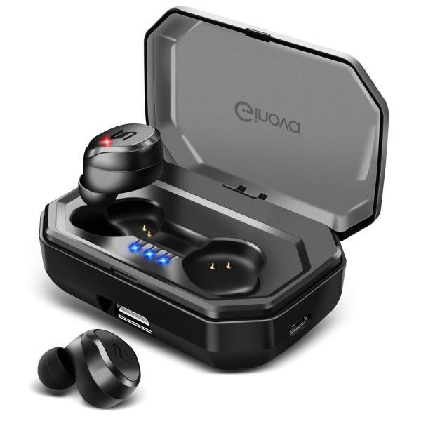 進化版 Bluetooth 5.0 IPX7完全防水 Bluetooth イヤホン 高音質 両耳 自動ペアリング 自動ON/OFF 90時間|taisei-sunflower|03