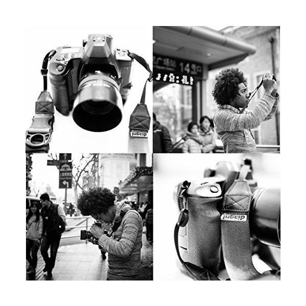 diagnl カメラストラップ Ninja Strap テープ幅 25mm Navy 513967|taisei-sunflower|03