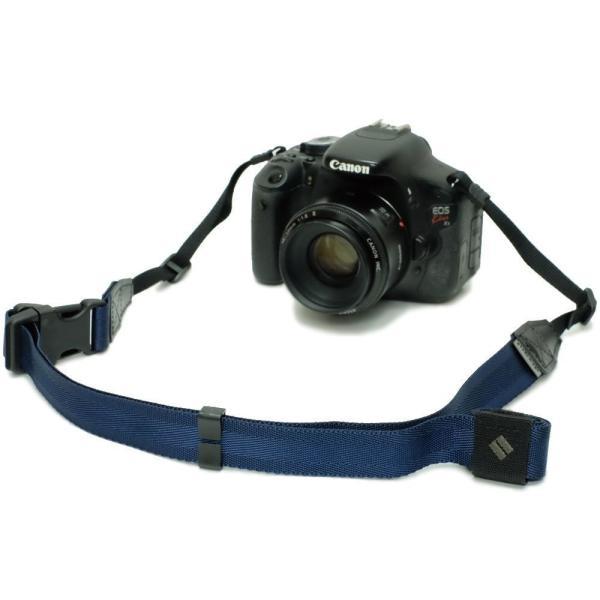 diagnl カメラストラップ Ninja Strap テープ幅 25mm Navy 513967|taisei-sunflower|04