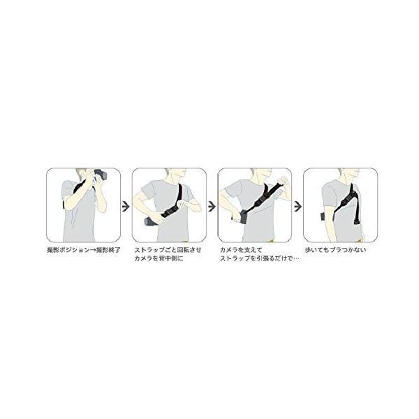 diagnl カメラストラップ Ninja Strap テープ幅 25mm Navy 513967|taisei-sunflower|06