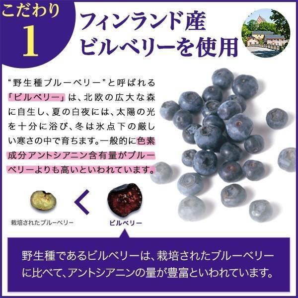 ブルーベリー サプリメント ルテイン 大正ブルーベリー 3箱 90袋 10%OFF ビルベリー 大正製薬 送料無料|taisho-directshop|04