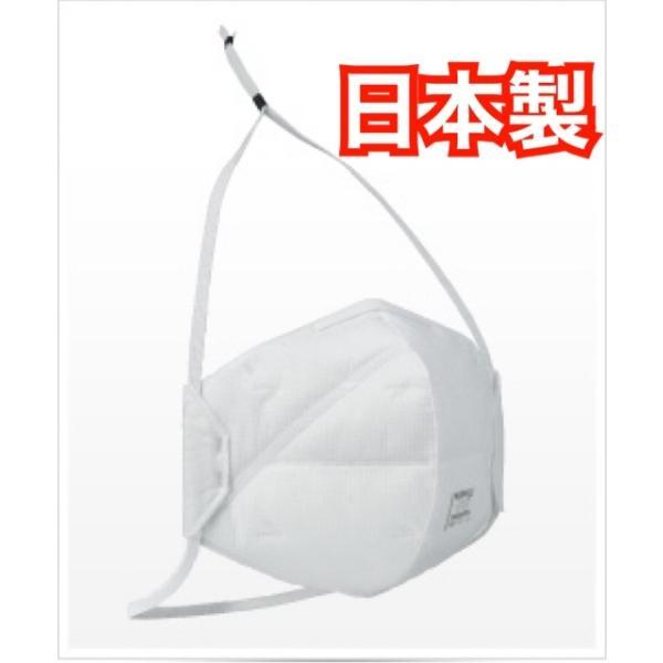 【在庫販売】重松製作所 N95マスク 10枚入り DD02-N95-2K 厚生労働省ではSARS(重症急性呼吸器症候群)や結核菌の対策指定品の画像
