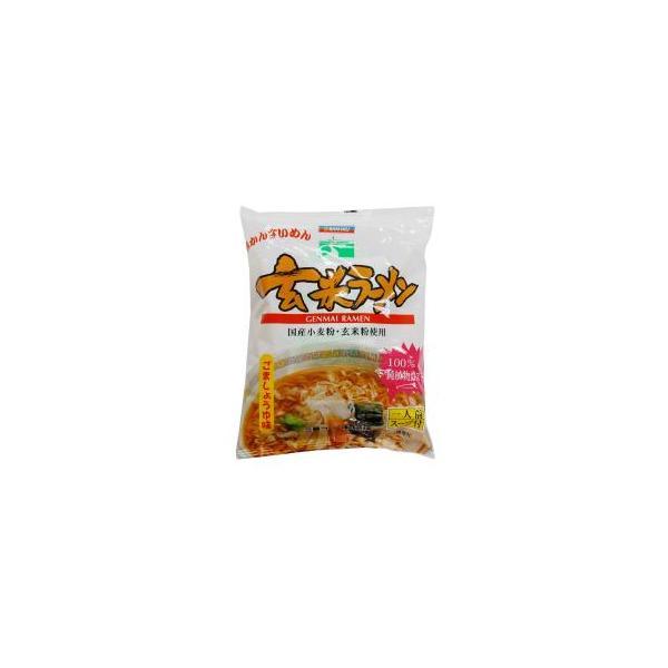 ■【ムソー】(三 育)玄米ラーメン・ごましょうゆ味100g