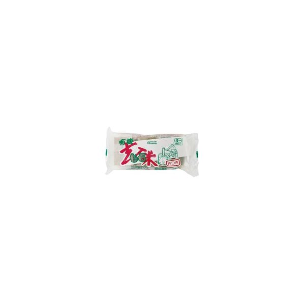 ●【オーサワ】有機玄米もち 300g(6個)