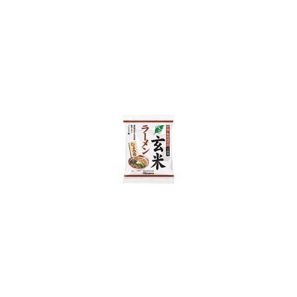 オーサワのベジ玄米ラーメン(しょうゆ)112g(うち麺80g)※20個セット