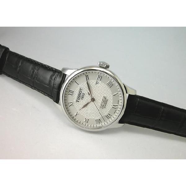 TISSOT ティソ ル・ロックル 腕時計 LE LOCLE T-CLASSIC AUTOMATIC T41.1.423.33 国内正規品|taiyodo|03
