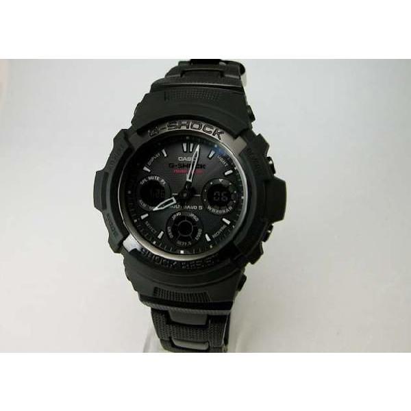 【G-SHOCK】Gショック Black×Gray Series(ブラック×グレーシリーズ)デジタルアナログコンビネーションタフソーラー電波腕時計 AWG-100BC-1CJF taiyodo 02