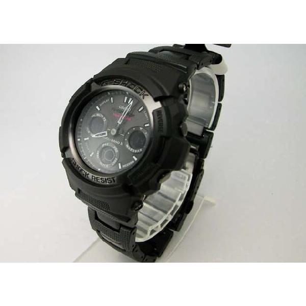 【G-SHOCK】Gショック Black×Gray Series(ブラック×グレーシリーズ)デジタルアナログコンビネーションタフソーラー電波腕時計 AWG-100BC-1CJF taiyodo 03