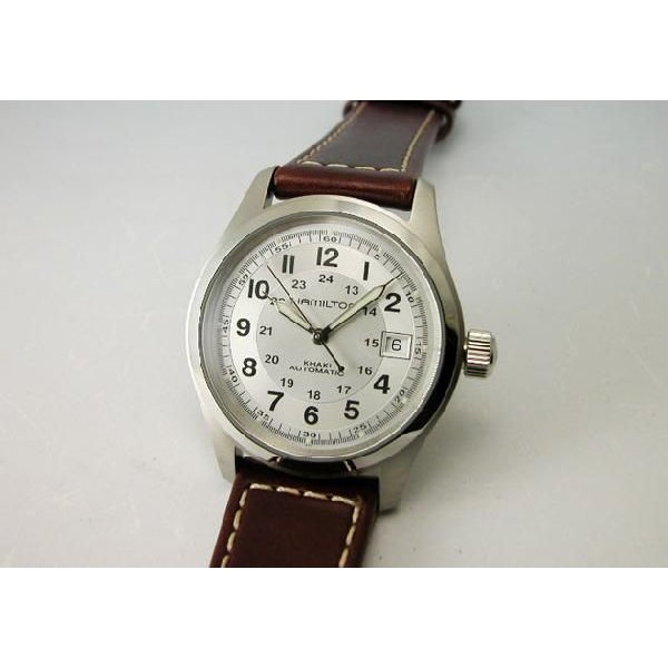 HAMILTON  ハミルトン カーキフィールドオート38mm メンズ腕時計H70455553 国内正規品|taiyodo|02