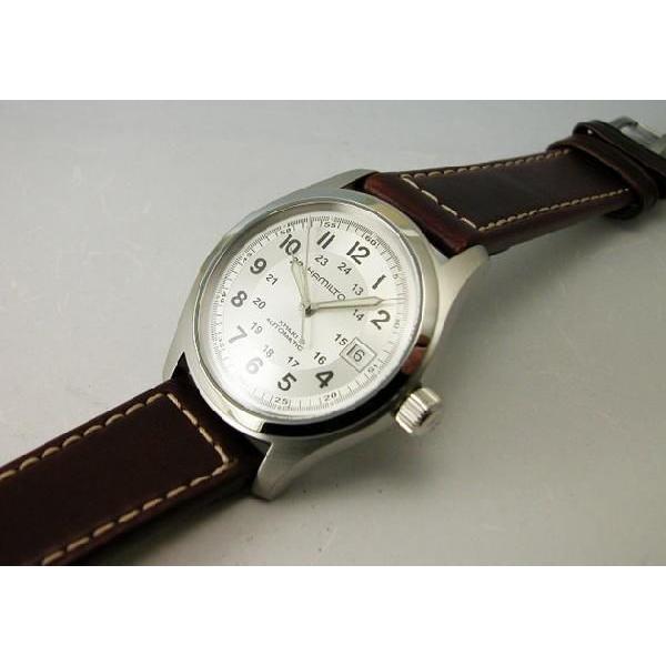 HAMILTON  ハミルトン カーキフィールドオート38mm メンズ腕時計H70455553 国内正規品|taiyodo|03