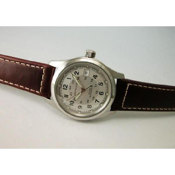 HAMILTON  ハミルトン カーキフィールドオート38mm メンズ腕時計H70455553 国内正規品|taiyodo|04