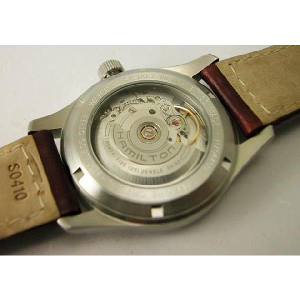 HAMILTON  ハミルトン カーキフィールドオート38mm メンズ腕時計H70455553 国内正規品|taiyodo|05