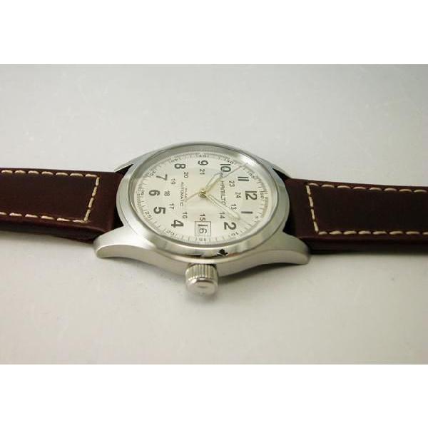 HAMILTON  ハミルトン カーキフィールドオート38mm メンズ腕時計H70455553 国内正規品|taiyodo|06