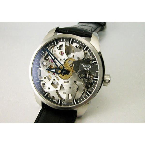 TISSOT ティソ 腕時計 T-コンプリカシオン スケレッテ T070.405.16.411.00 メンズ 国内正規品|taiyodo|02