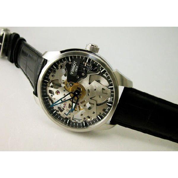 TISSOT ティソ 腕時計 T-コンプリカシオン スケレッテ T070.405.16.411.00 メンズ 国内正規品|taiyodo|04