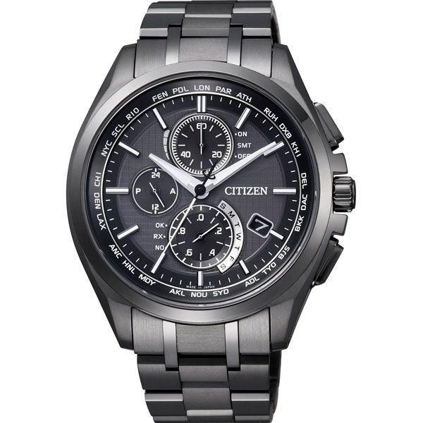 33295da9b10521 CITIZEN シチズン 腕時計 ATTESA アテッサ Eco-Drive エコ・ドライブ 電波 ダイレクトフライト AT8044- ...