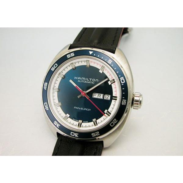 HAMILTON  ハミルトン腕時計 Pan Europ パンユーロ オートH35405941 自動巻き 国内正規品 メンズ|taiyodo|03