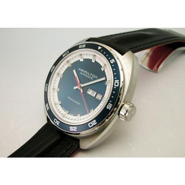 HAMILTON  ハミルトン腕時計 Pan Europ パンユーロ オートH35405941 自動巻き 国内正規品 メンズ|taiyodo|04
