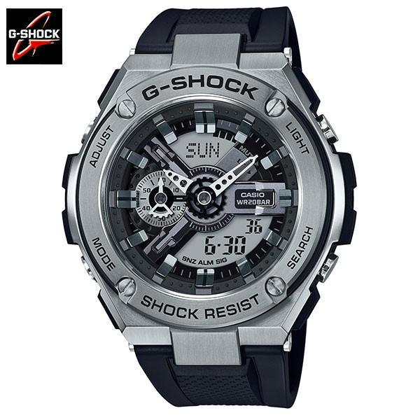 61fe281412dc G-SHOCK ジーショック 腕時計 Gスチールウォッチ GST-410-1AJF メンズ 国内