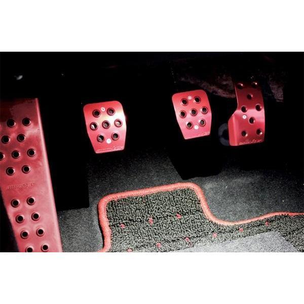 86 ペダルカバー ZN6 【スポーツドライビングペダルカバー/レッドアルマイト】86[ZN6]/BRZ[ZC6] MT車用|tajimastore|02
