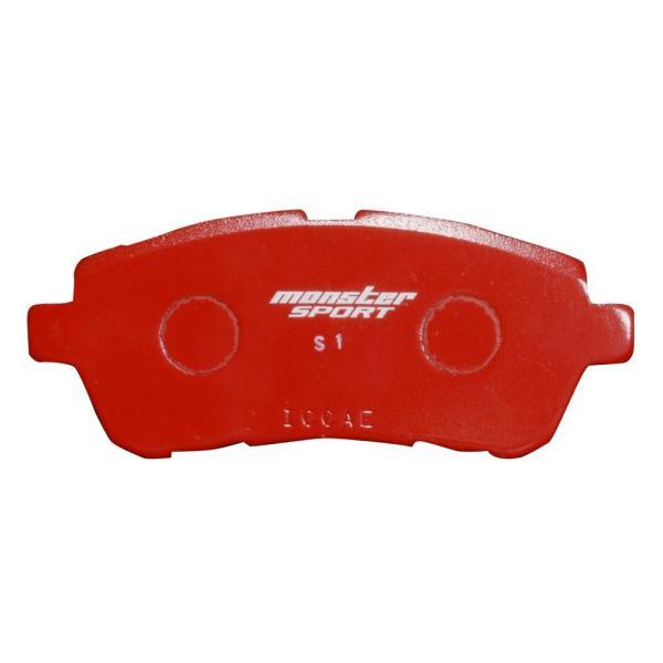 スイフトスポーツ [ZC33S/ZC32S] / スイフト[ZC13S/ZC43S/Z#53S/Z#83S] ブレーキ パッド【モンスタースポーツ  ブレーキパッド type-S1 フロント 】|tajimastore|02
