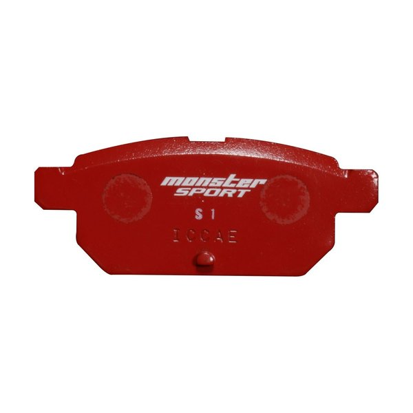 スイフトスポーツ [ZC33S/ZC32S] / スイフト[ZC13S/ZC43S/Z#53S/Z#83S] ブレーキ パッド【モンスタースポーツ  ブレーキパッド type-S1 リヤ 】|tajimastore|02
