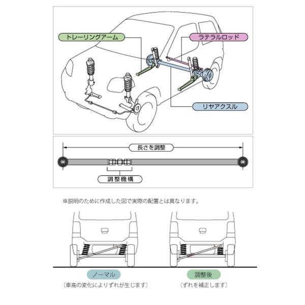 ラテラルロッド【調整式ラテラルロッド】ラパン/ワゴンR tajimastore 02