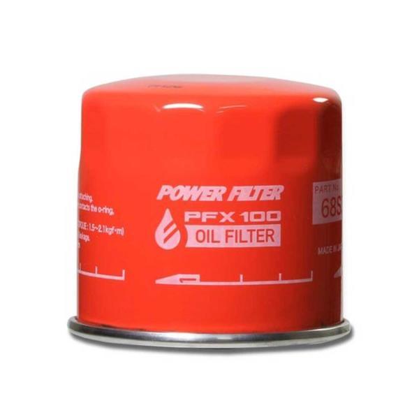 スズキR06A搭載車 他用 オイルフィルター 「パワーフィルター PFX100」φ65x50 3/4・16UNF|tajimastore