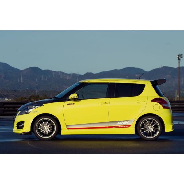 サイドデカール*スイフトスポーツ(ZC32S)*モンスタースポーツ ステッカー(受注生産品)|tajimastore|02