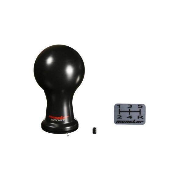 シフトノブ【モンスターシフトノブ Aタイプ (球型)/黒 差込タイプ】|tajimastore