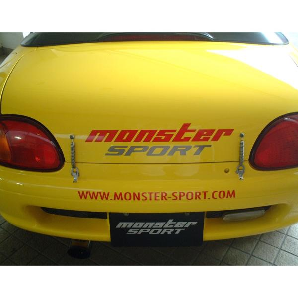 モンスタースポーツステッカー*スイフト/ジムニー/ランサーエボリューション/86「NEWモンスタースポーツステッカー 450mm」450×95「896111-0000M」|tajimastore|02