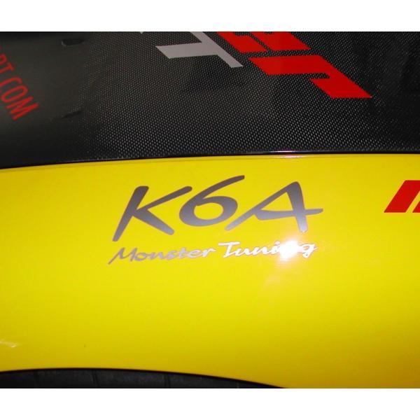 ステッカー「モンスタースポーツK6A Monster Tuning ステッカー」「896123-0000M」|tajimastore|02
