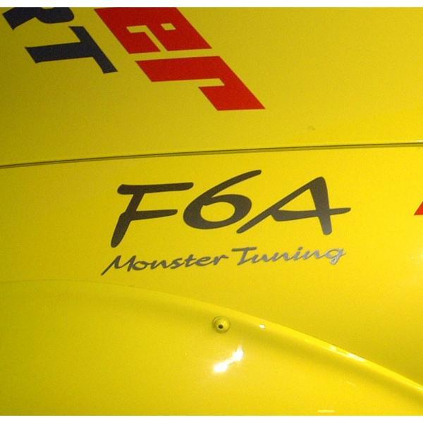 ステッカー「モンスタースポーツF6A Monster Tuning ステッカー」スイフト/ジムニー/ランサーエボリューション/86「896128-0000M」|tajimastore|03