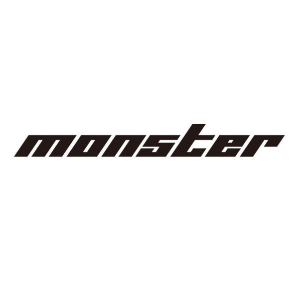 ステッカー「モンスタースポーツ切り文字ステッカー(黒大)」745×90「896134-0000M」 tajimastore
