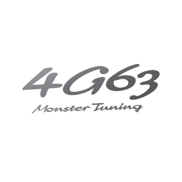 ステッカー「モンスタースポーツ4G63 Monster Tuning ステッカー」「896166-0000M」|tajimastore