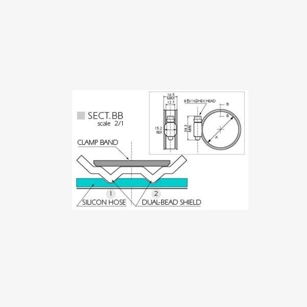 ホースバンド(2個/1セット)【強化ホースバンドφ37mm〜φ60mm】|tajimastore|04