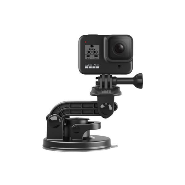 【GoPro サクションカップマウント】GoPro純正アクセサリー・マウント*クルマやボートなど様々なものにゴープロカメラを取り付け可能にする吸盤