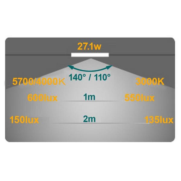 高品質な薄型LED照明「EPOCH(エポック) LEDベースライト DP252」省エネ照明「DP252-28GC」 tajimastore 05