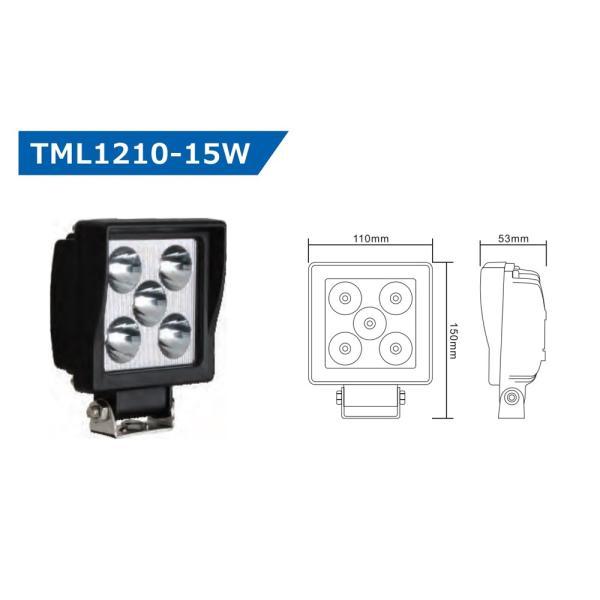作業灯 LED照明【JUNTU(ジュンツ) LEDワークライト12F-15W】省エネ照明【TML1210-15W】|tajimastore|02