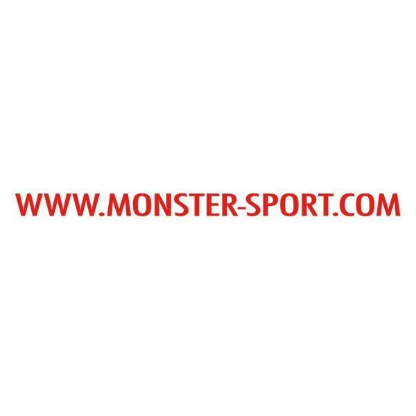 モンスタースポーツステッカー「MSドットコム ステッカー(レッド)」500×27*スイフト/ジムニー/ランサーエボリューション/86「ZZZB45」 tajimastore