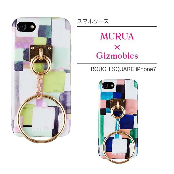 MURUA×Gizmobies/ROUGH SQUARE iPhone7