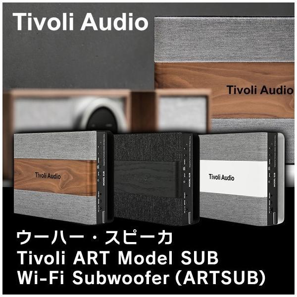 Tivoli Audio(チボリオーディオ) Tivoli ART Model SUB (ウーハー・スピーカ) Wi-Fi Subwoofer (ARTSUB)