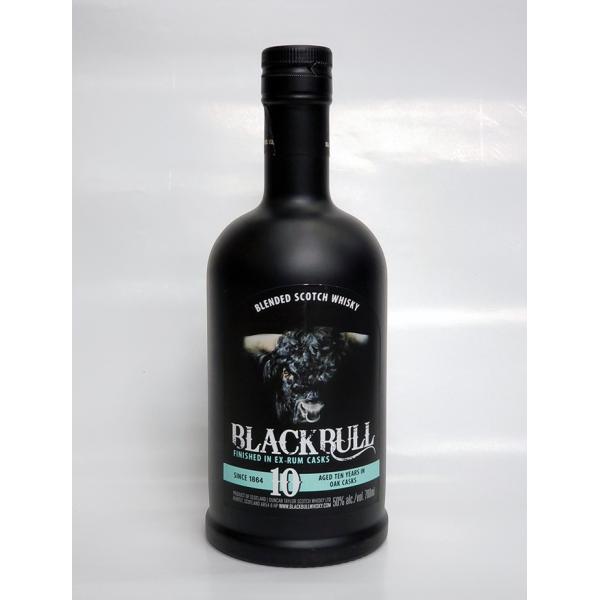 ブラックブル10年 ラムカスクフィニッシュ 50% 700ml|takagi-sake