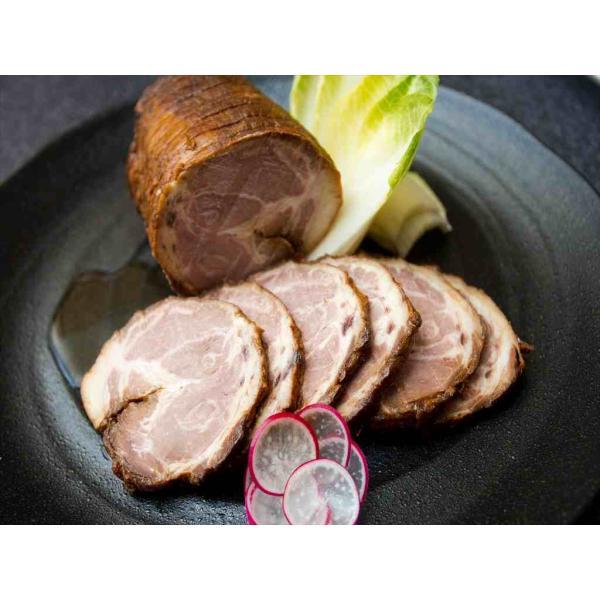 けんとん豚肩ロース肉 とろ焼豚 3個入(合計約500g)+特製タレ|takagiseiniku|02